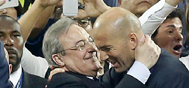 Foto: '17-jarige zorgt voor conflict tussen Zidane en Perez'