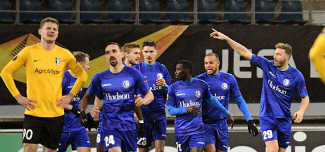 Foto: Speler AA Gent schopt het tot Team van de week in Europa League