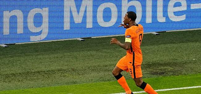 Foto: Oranje haalt opgelucht adem: