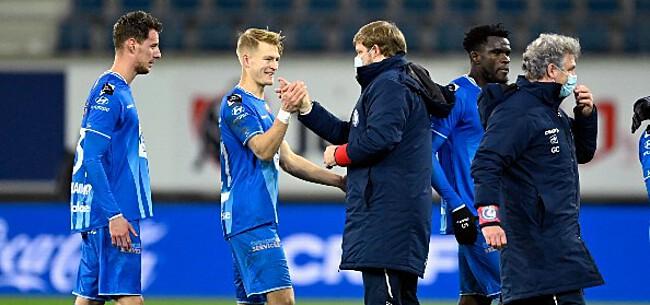 Foto: Vanhaezebrouck blijft indruk maken op spelers: