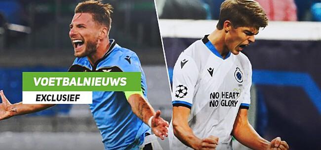 Foto: Club versus Lazio: