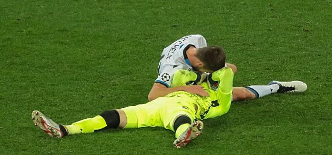 Foto: Club Brugge houdt hart vast na