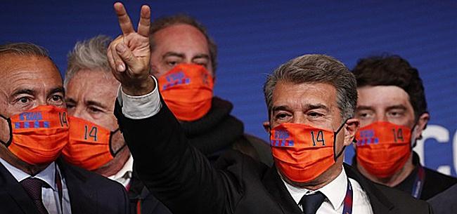 Foto: 'Laporta schakelt zwaargewichten in voor renovatie Barça'