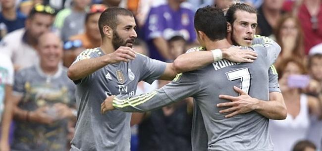 Foto: Drama voor Real Madrid: 4 maanden geen BBC
