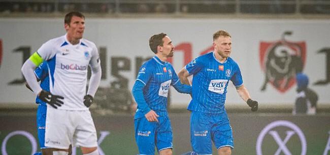 Foto: AA Gent bewijst Anderlecht enorme dienst met zege tegen Genk
