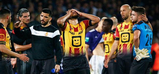 Foto: Spelers KV Mechelen aangepakt: