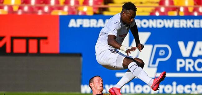 Foto: 'Dimata weigert voorstel, Anderlecht vond geen akkoord'