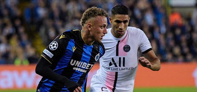 Foto: Club Brugge wijst UEFA op 'vergetelheid'