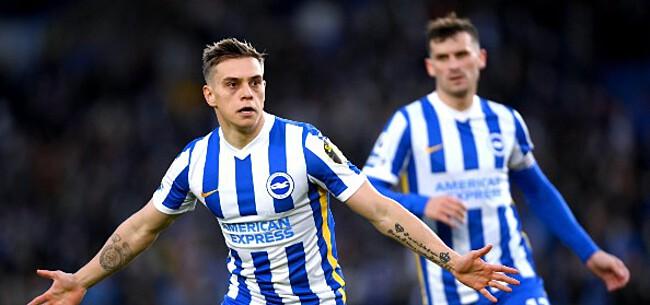 Foto: Trossard leidt fraaie comeback van Brighton tegen Man City in