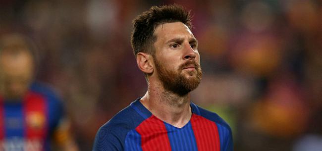 Foto: Messi: Nederlander bij beste spelers ter wereld
