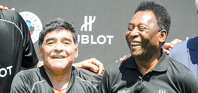 Foto: Pelé reageert op overlijden Maradona: