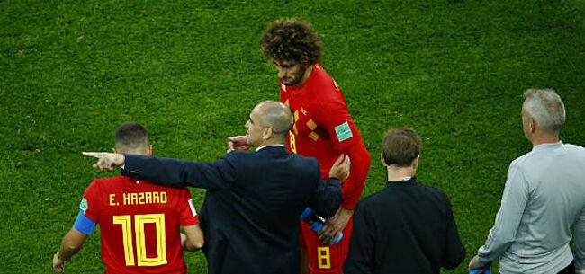 Foto: Martinez laat zich uit over mogelijke terugkeer Fellaini