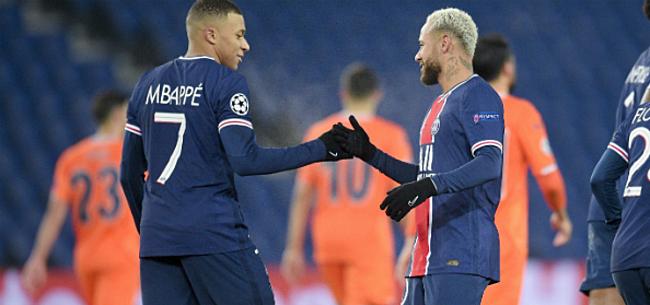 Foto: Neymar en Mbappé leggen er vijf in het mandje bij PSG