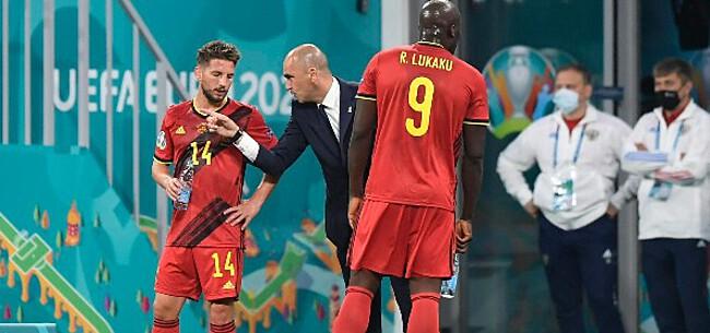 Foto: Dries Mertens staat voor uniek moment tegen Denemarken