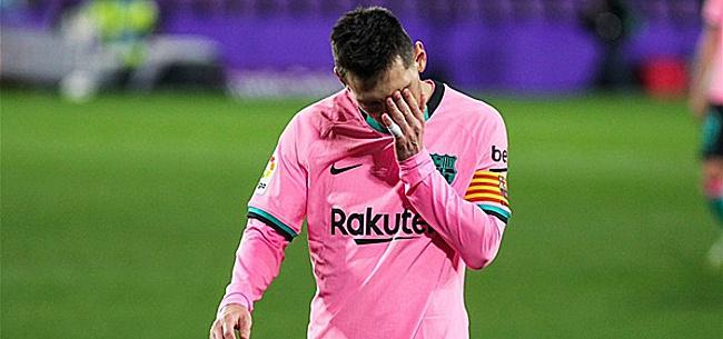 Foto: 'Woedende Messi wil Barça-bestuurders aanklagen na lekken contract'