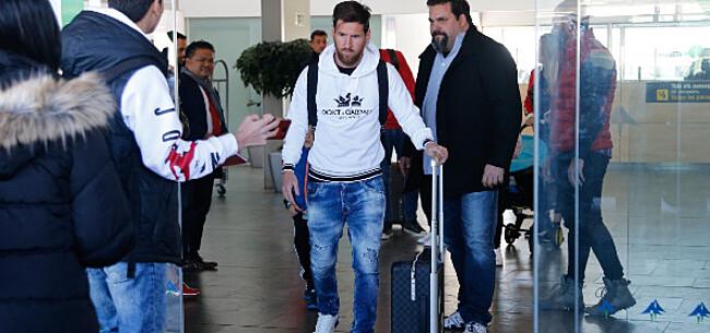 Foto: Lionel Messi meldt zich weer bij FC Barcelona