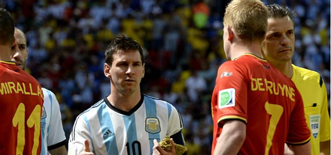 Foto: Messi ziet De Bruyne en co straks andere oorden opzoeken