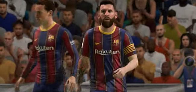 Foto: Messi en Ronaldo ondergaan opvallende transformatie in FIFA 21