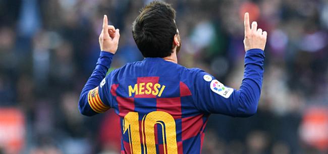 Foto: Messi waarschuwt eigen trainer:
