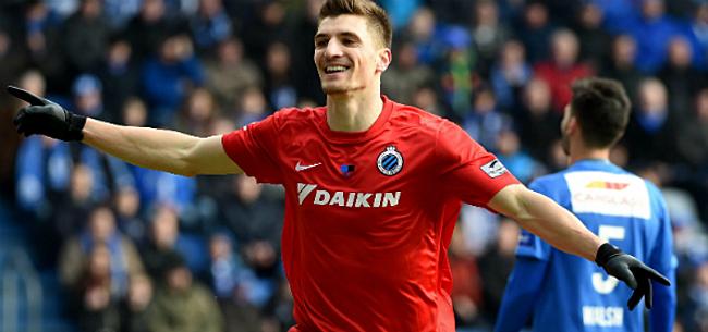 Foto: Meunier is Club Brugge niet vergeten: