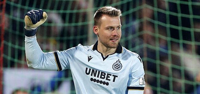 Foto: Mignolet lyrisch over Club Brugge-ploegmaat