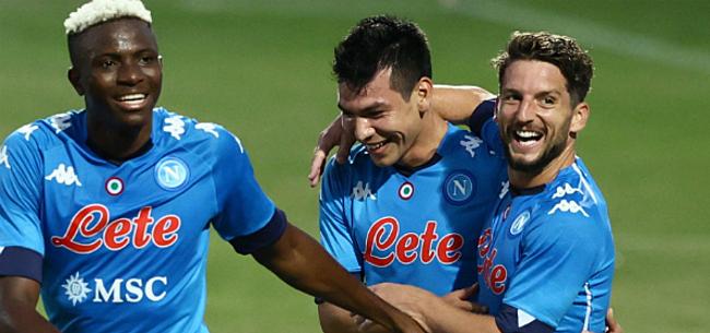Foto: Napoli geeft Atalanta pak voor de broek