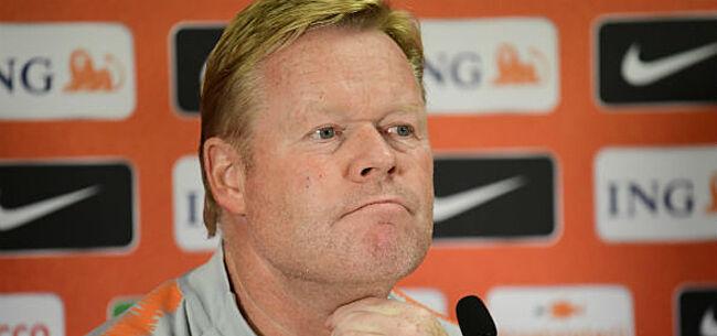 Foto: Oranje-bondscoach tergt Rode Duivels met érg minachtende uitspraak