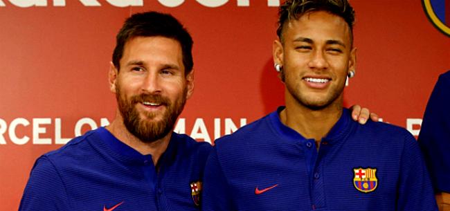 Foto: Sky Sports: 'Neymar dient Messi-verzoek in bij PSG'