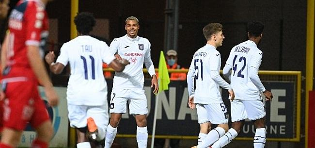 Foto: Anderlecht-aanvaller maakt indruk: