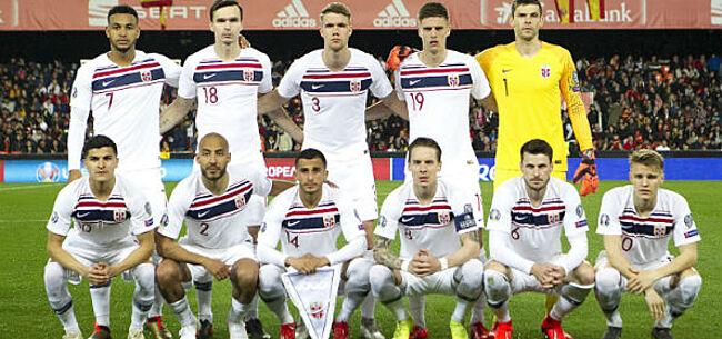 Foto: Finland plaatst zich voor het eerst voor EK, Noorwegen wint ruim