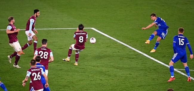 Foto: Heerlijke goal Praet en Castagne stuwen Leicester naar zes op zes