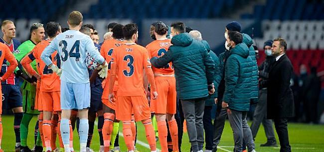 Foto: UEFA komt toch met goed gebaar na racismerel PSG-Basaksehir