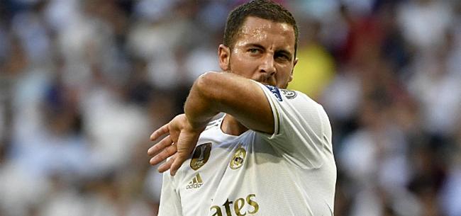Foto: Hazard spoorloos in Spaanse topper: