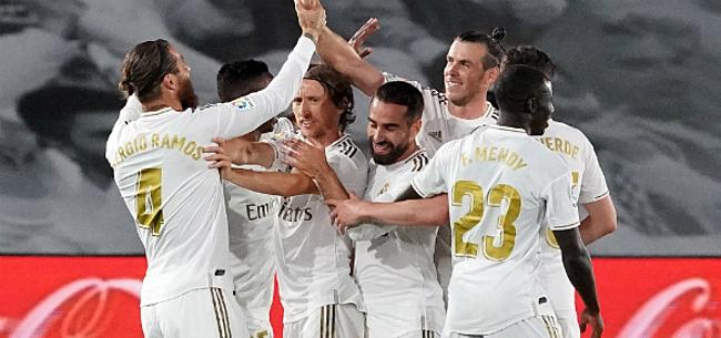 Foto: Hazard-loos Real doet gouden zaak in titelstrijd