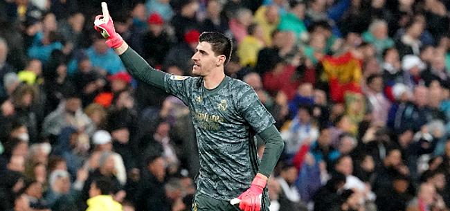 Foto: Courtois kan voor ongezien record tekenen in La Liga