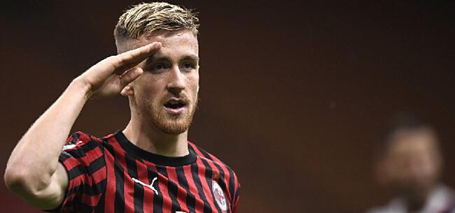 Foto: 'Saelemaekers moet voor plaats vrezen bij AC Milan'