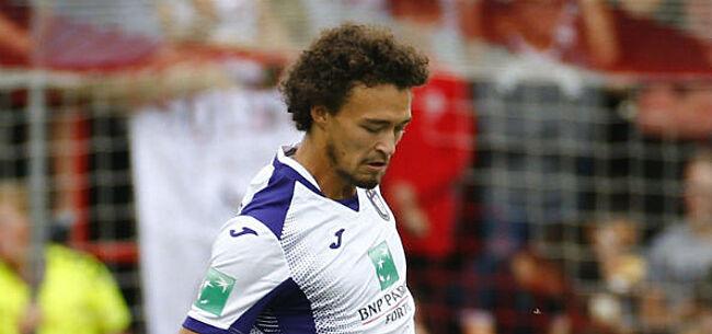Foto: Anderlecht komt zelf met nieuws over blessure Sandler