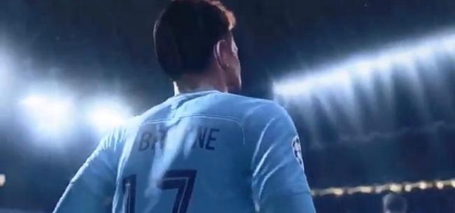 Foto: King op FIFA 21: De Bruyne troeft Messi en co af