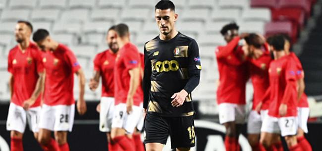Foto: Standard kansloos onderuit bij Vertonghen en Benfica