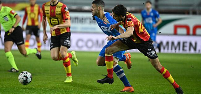 Foto: Billijk gelijkspel tussen AA Gent en KV Mechelen na leuke pot voetbal