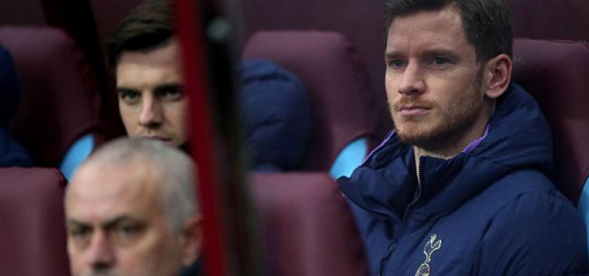 Foto: 'Mourinho bezorgt Vertonghen bijzonder wrang afscheid'