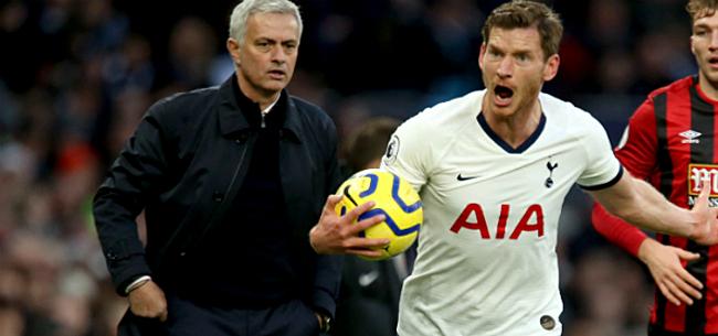 Foto: Vertonghen maakt zich onsterfelijk bij Mourinho met geniale actie
