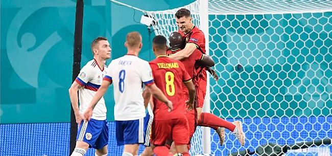 Foto: Belgische fans bijzonder hoopvol over straf EK