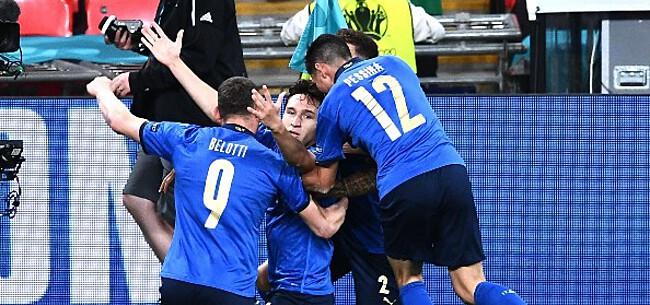 Foto: Italianen krijgen dubbele opsteker voor clash met België