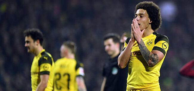 Foto: Witsel plots in zwaar weer bij Dortmund:
