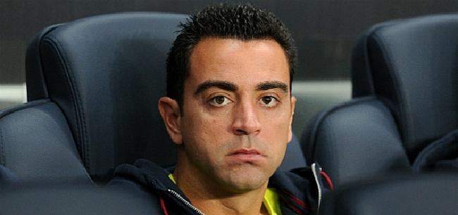 Foto: Xavi geeft eindelijk reden voor 'njet' tegen Barcelona
