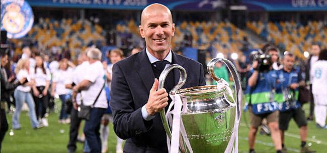 Foto: Zidane niet bij iedereen geliefd: