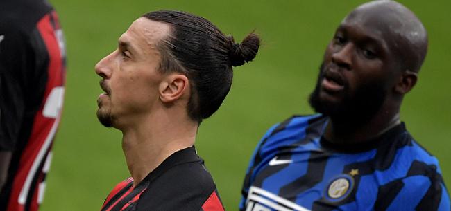 Foto: Ibrahimovic dient Lukaku van antwoord